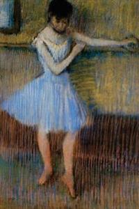 ''Dancer in Blue at the Barre'' by Edgar Degas: Journal (Blank / Lined)