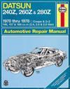 Datsun 240Z, 260Z & 280Z (70 - 78)