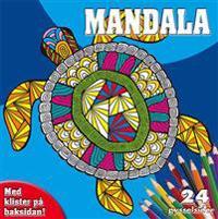 Mandala målarblock (sköldpadda)