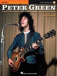 Green Peter Signature Licks Guitar Book/Audio Online