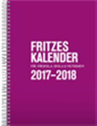 Fritzes kalender för förskola, skola och fritidshem 2017/2018