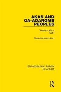 Akan and Ga-Adangme Peoples