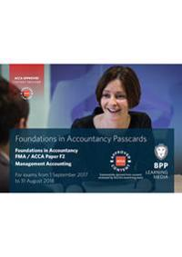 Fia foundations in management accounting fma (acca f2) - passcards