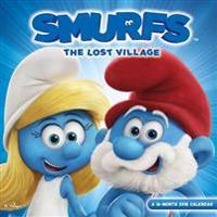 Smurfs: The Lost Village 2018 Wall Calendar