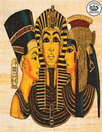 Notebook Kingdom Egypt Series: Egypt Notebook Notepad Journal Diary or Composition Book Blank 100 Pages 8.5x11 Group of Gods
