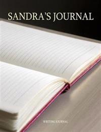 Sandra's Journal: 100 Lined Pages Ready for Your Thoughts