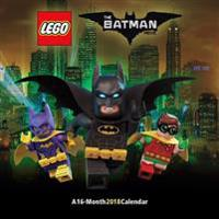 The Lego Batman Movie 2018 Wall Calendar