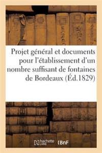 Projet General Et Documents Pour L'Etablissement D'Un Nombre Suffisant de Fontaines Dans