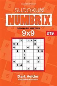 Sudoku - 200 Hard Puzzles 9x9 (Volume 19)