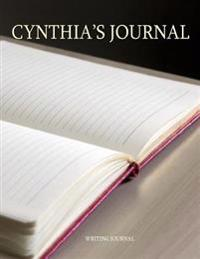 Cynthia's Journal: 100 Lined Pages Ready for Your Thoughts