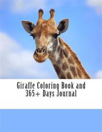 Giraffe Coloring Book and 365+ Days Journal