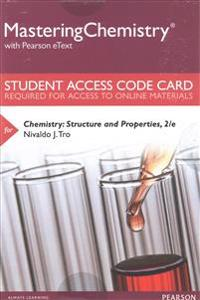 Mastering Chemistry with Pearson Etext -- Standalone Access Card -- For Chemistry: Structure and Properties