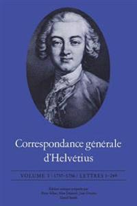 Correspondance G�n�rale d'Helv�tius