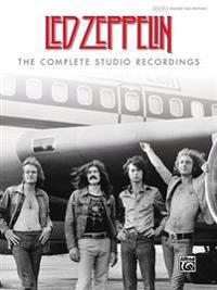 Led Zeppelin -- The Complete Studio Recordings: Authentic Guitar Tab, Hardcover Book