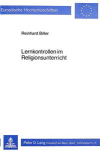 Lernkontrollen Im Religionsunterricht