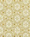 Gold Glitter Floral Pattern Notebook