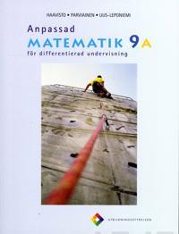 Anpassad matematik 9 A