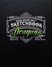 Colour My Sketchbook Dragons