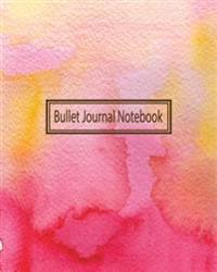Bullet Journal Notebook: 8 X 10 Creative Watercolor 150 Pages Dot Grid Journal