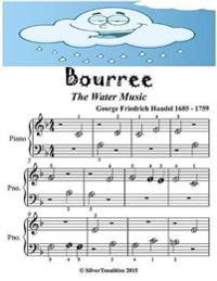 Bourree Water Music - Beginner Tots Piano Sheet Music