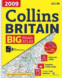 Collins Big Road Atlas 2009 Britain