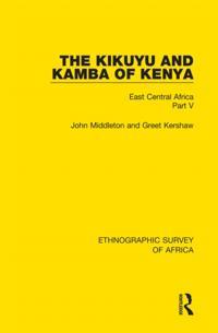 Kikuyu and Kamba of Kenya