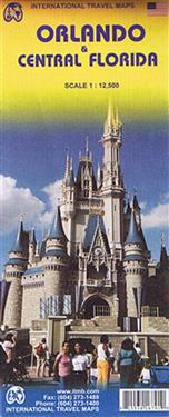 Orlando/Central Florida Travel Reference Map