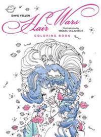 Hair Wars Coloring Book
