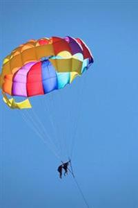 Awesome Colorful Paraglider Sports and Recreation Journal: 150 Page Lined Notebook/Diary