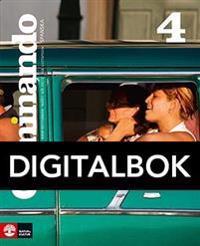 Caminando 4 Lärobok Digital, fjärde upplagan