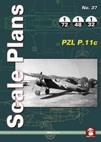 PZL P.11c Scale palns