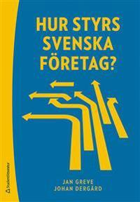 Hur styrs svenska företag?
