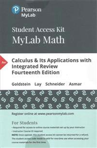 Mymathlab with Pearson Etext -- Standalone Access Card -- For Calculus & Its Applications with Integrated Review