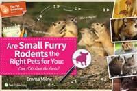 Are Small Furry Rodents the Right Pet for You: Can You Find the Facts?