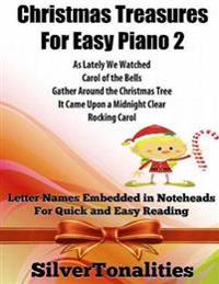 Christmas Treasures for Easy Piano 2