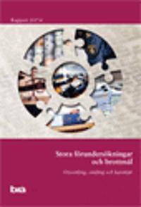 Stora förundersökningar och brottmål. Brå rapport 2017:4 : utveckling, omfång och karaktär