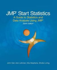 Jmp Start Statistics: A Guide to Statistics and Data Analysis Using Jmp, Sixth Edition