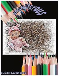 Splendiferous: Kid's Drawing Book: Large 8.5 X 11 Blank, White, Unlined,100 Pages Freely to Write, Sketch, Draw and Paint ( Splendid