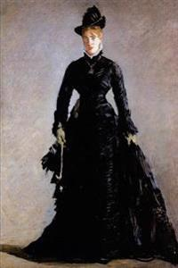 """Parisienne Study of Ellen Andree"" by Edouard Manet - 1874: Journal (Blank / Lin"