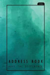 Pastel Address Book: My Address Book - Pastel Watercolor Design (Pocket-Size) Address, Phone, Email, Emergency Contact