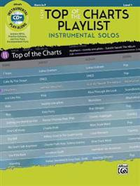 Easy Top of the Charts Playlist Instrumental Solos: Horn in F, Book & CD