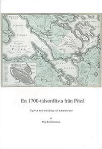 En 1700-talsordlista från Piteå
