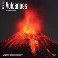 Volcanoes 2018 Calendar