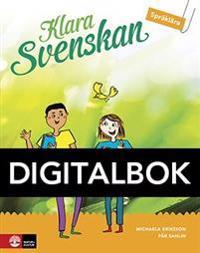 Klara svenskan åk 5 Elevbok Språklära Digital - Michaela Eriksson, Pär Sahlin pdf epub