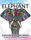 Elephant Coloring Book for Adults: Creative Animals Design for Relaxation and mindfulness