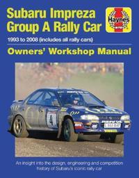 Subaru Impreza WRC Rally Car Owners Work