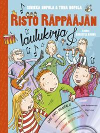 Risto Räppääjän laulukirja (kirja + CD)
