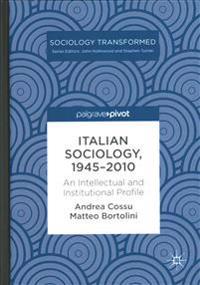 Italian Sociology,1945-2010