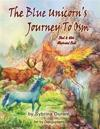 The Blue Unicorn's Journey to Osm Black and White: Unicorn Coloring Book