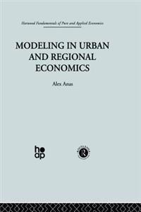 Modelling in Urban and Regional Economics